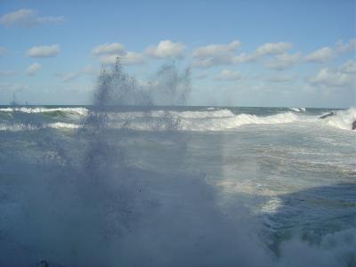 Las olas y mi familia